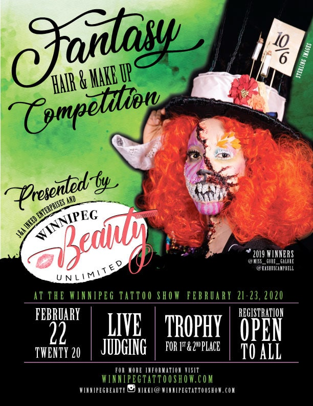 Fantasy Hair & Makeup Competition [poster]